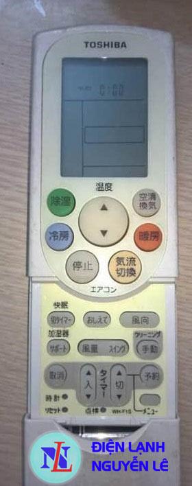 bảng dịch remote toshiba autolcean